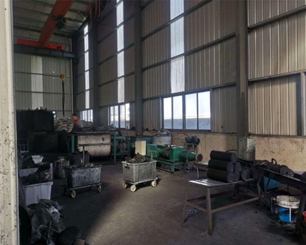 污水处理活性炭生产车间