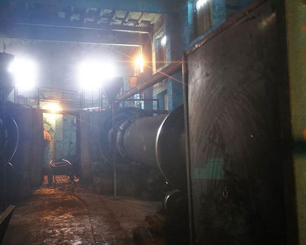 废气处理活性炭生产车间